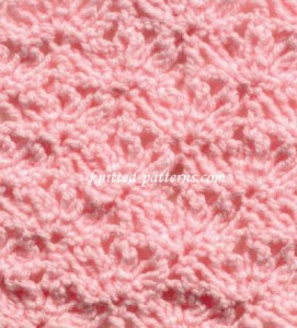 Looped Petals - Crochet stitch