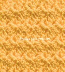 Sideways - crochet stitch