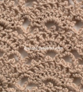 Open Fan - Crochet Stitch