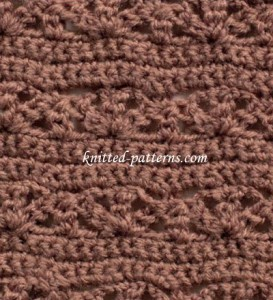 Looped Shell - Crochet Stitch