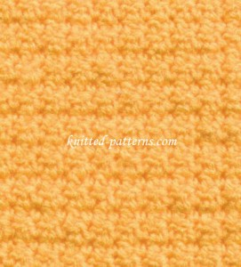 Ups and Downs - Crochet Stitch