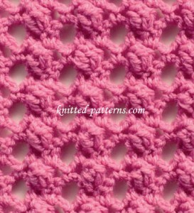Looped Popcorns - Crochet Stitch