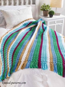 Throw Crochet Free Pattern