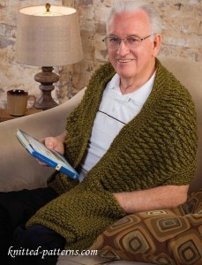 Men's wrap crochet pattern free