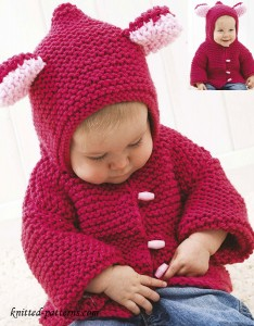 Baby jacket knitting pattern free