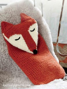 Animal cosy knitting pattern