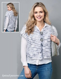 Vest knitting pattern