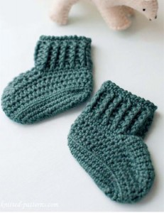 Bootees crochet pattern