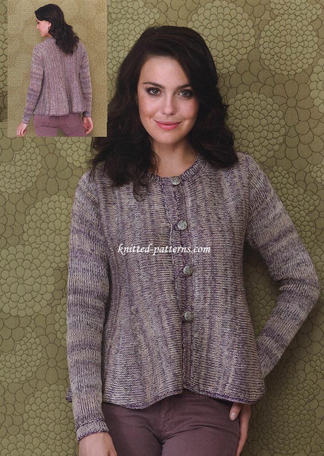 Free womens jackets knitting patterns