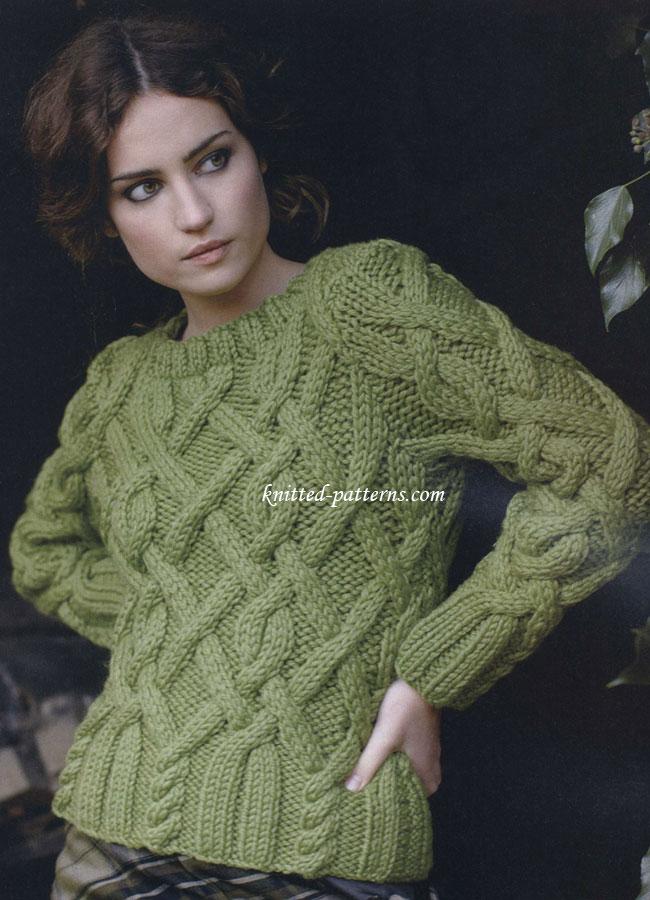 Knitting Pattern Website : Homeland Jumper