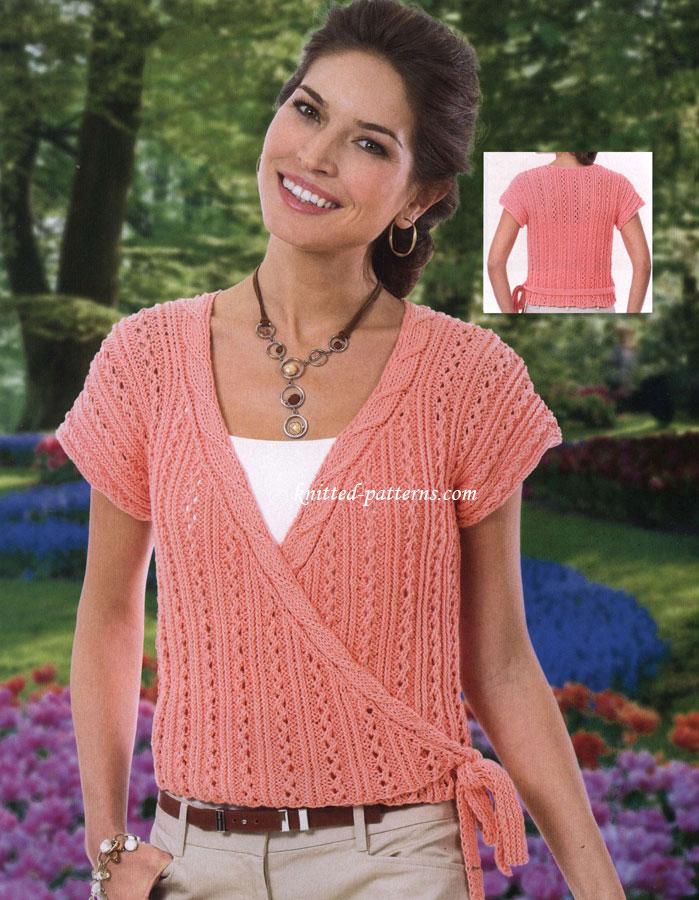 Womens Cardigans Knitting Patterns