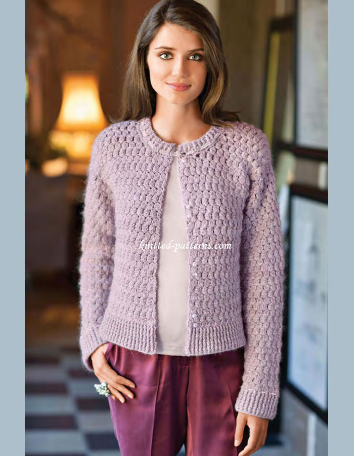 Knitting Patterns For Women : Crochet womens cardigans