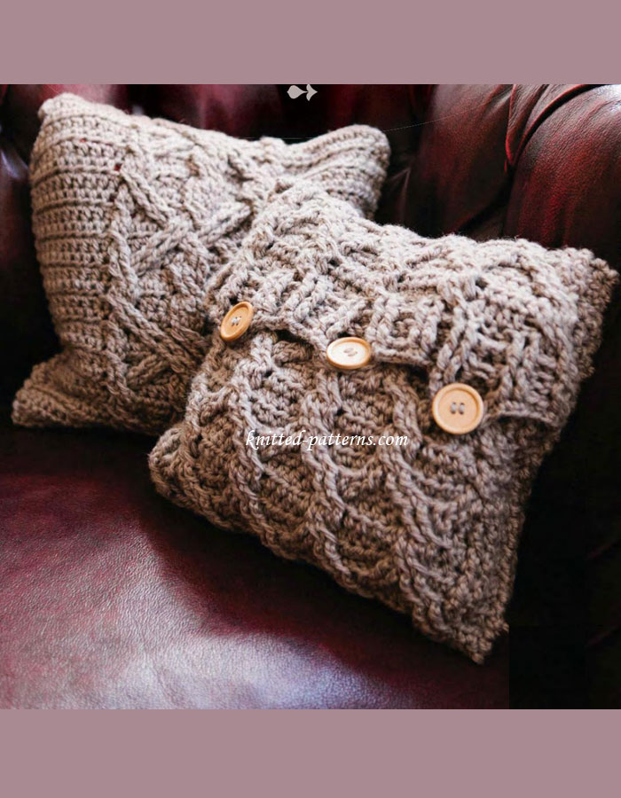 Aran Cushion Covers