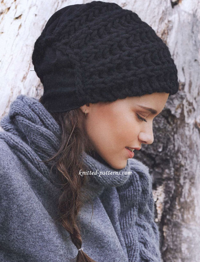 Knitting Patterns Scarves And Hats : Knitting patterns - scarves, hats