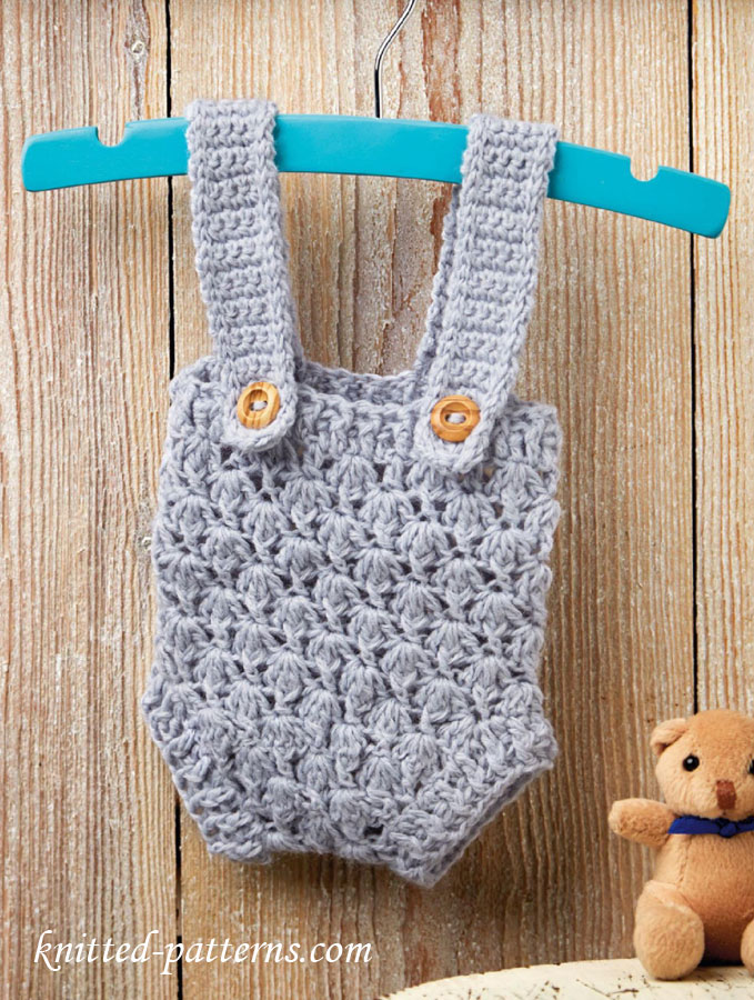 Crochet Pattern Baby Dungarees : Knitting patterns