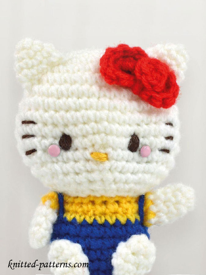 Knitted Amigurumi Cat Pattern : Amigurumi cat girl