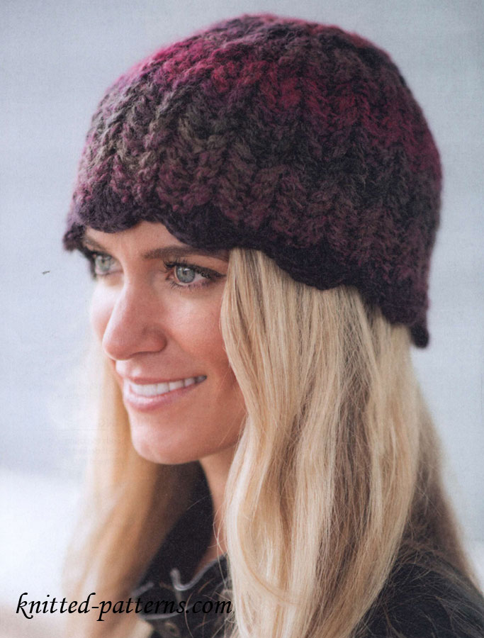 Free Knitting Patterns For Ladies Hats And Scarves : Crochet womens hats and scarves