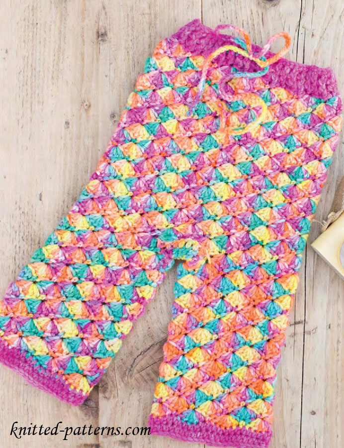 Tights Knitting Pattern : Childs Crochet Leggings