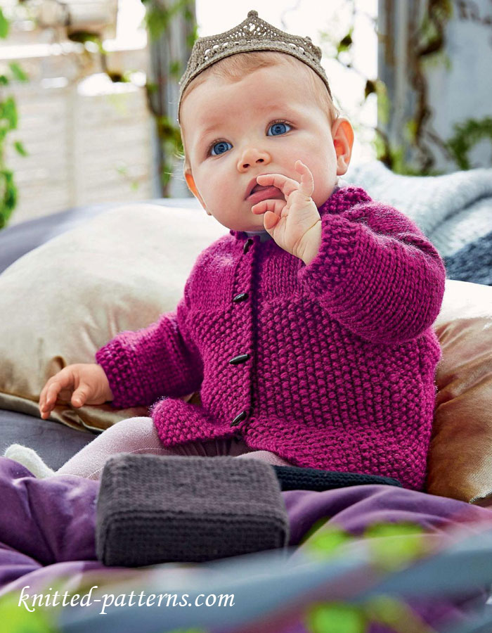 Free Knitting Patterns For Girls Jackets : Knitting for girls