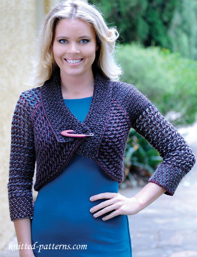 Free Bolero Knitting Patterns