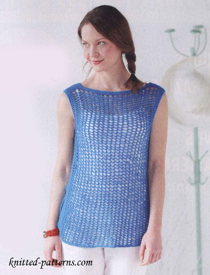 Ladies Tunic Knitting Patterns : Knitting
