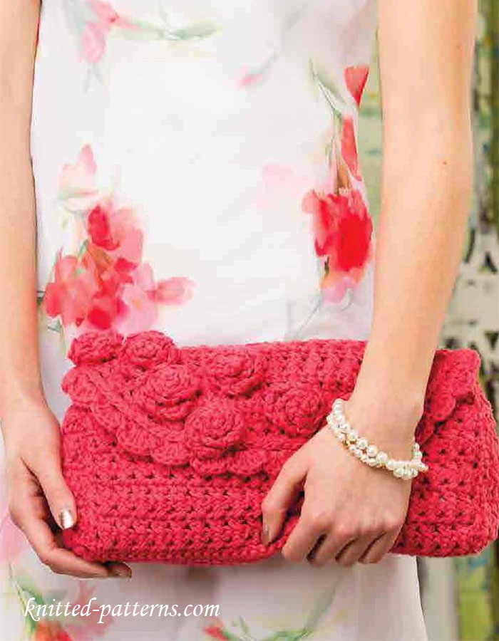 Free Crochet Clutch Pattern : Crochet clutch free pattern