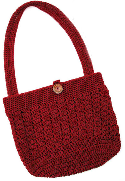 Knitting Patterns Bags Totes : Crochet Tote Pattern Free
