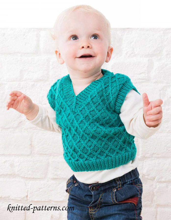 Knitting Pattern Baby Tank Top : Baby tank top knitting pattern free