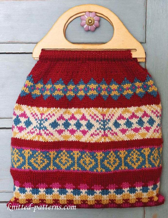 Carpet bag knitting pattern free