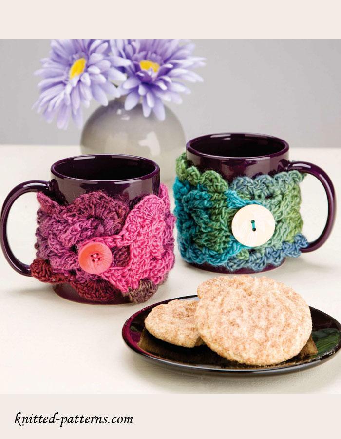 Crochet Cup Cozy Pattern Free