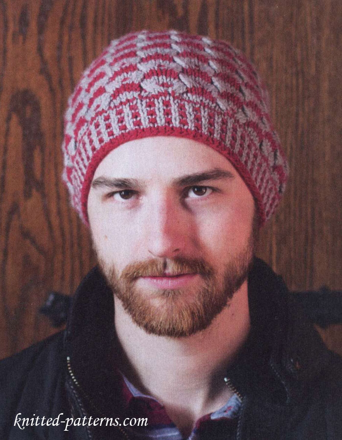 Men s hat knitting pattern free ffd2a655575