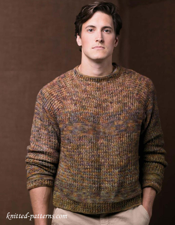 Knitting Patterns Boys : Mens pullovers and sweaters knitting patterns