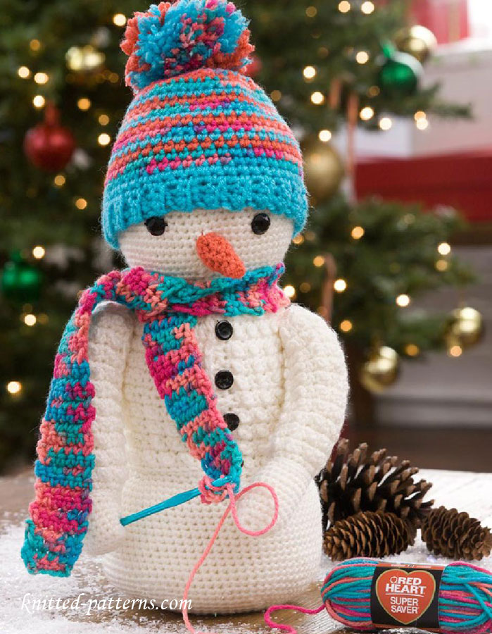 Snowman Crochet Pattern Free