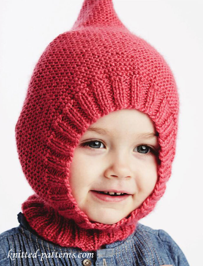 Free Knitting Patterns Hats For Children : Baby hat knitting pattern free