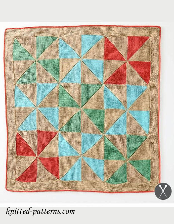 Free Knitting Pattern Baby Blanket
