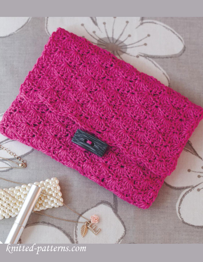 Clutch bag crochet pattern free