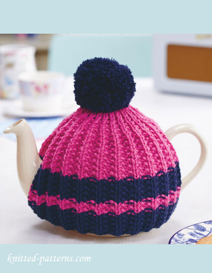 Free Knitted Tea Cosies Patterns : Hand knitted tea cosy pattern free