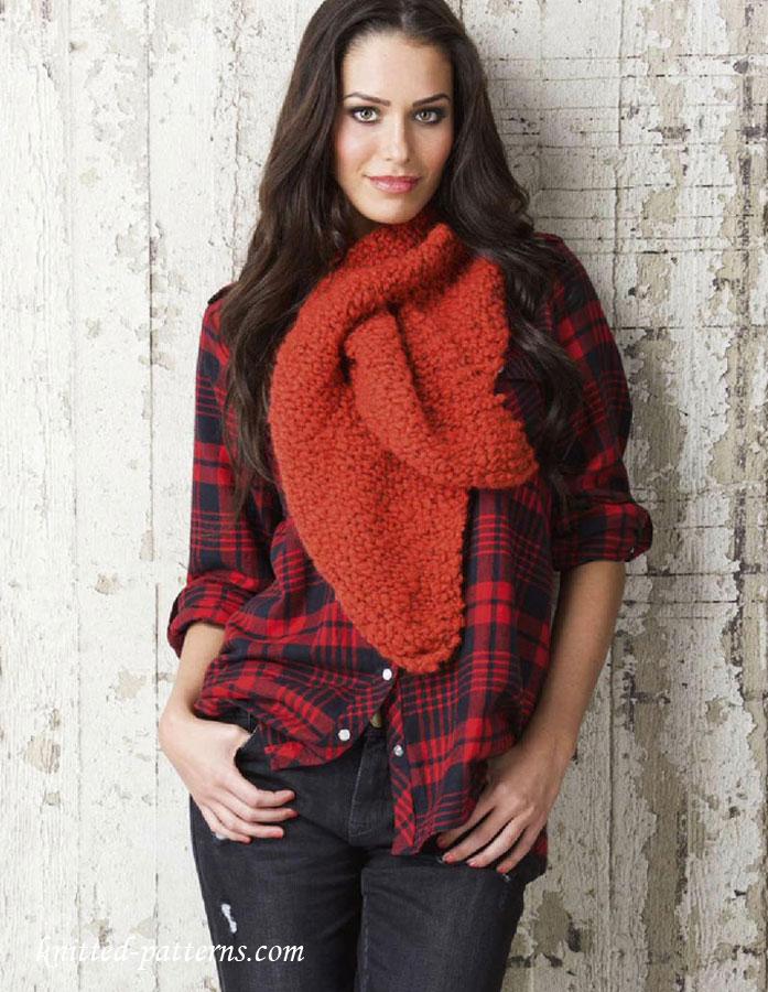 Ladies Cravat Knitting Pattern Free
