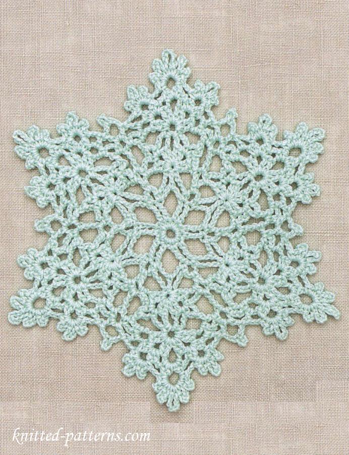 Snowflake Doily: Free Crochet Pattern