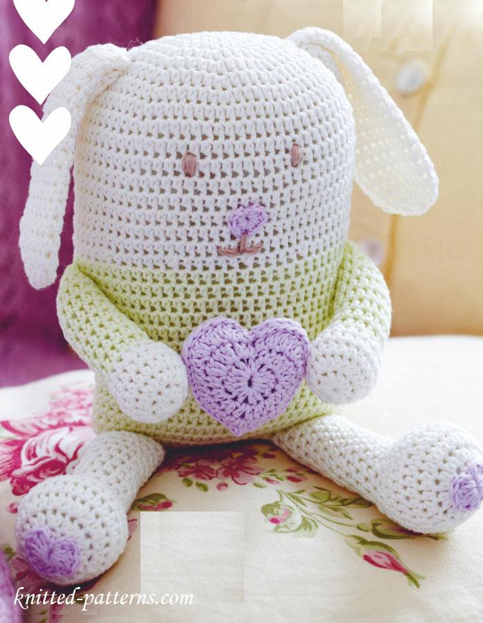 Crochet Bunny Pattern Free