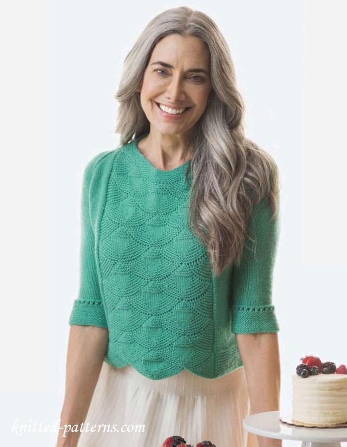 Raglan Pullover Knitting Pattern : Raglan pullover knitting pattern free