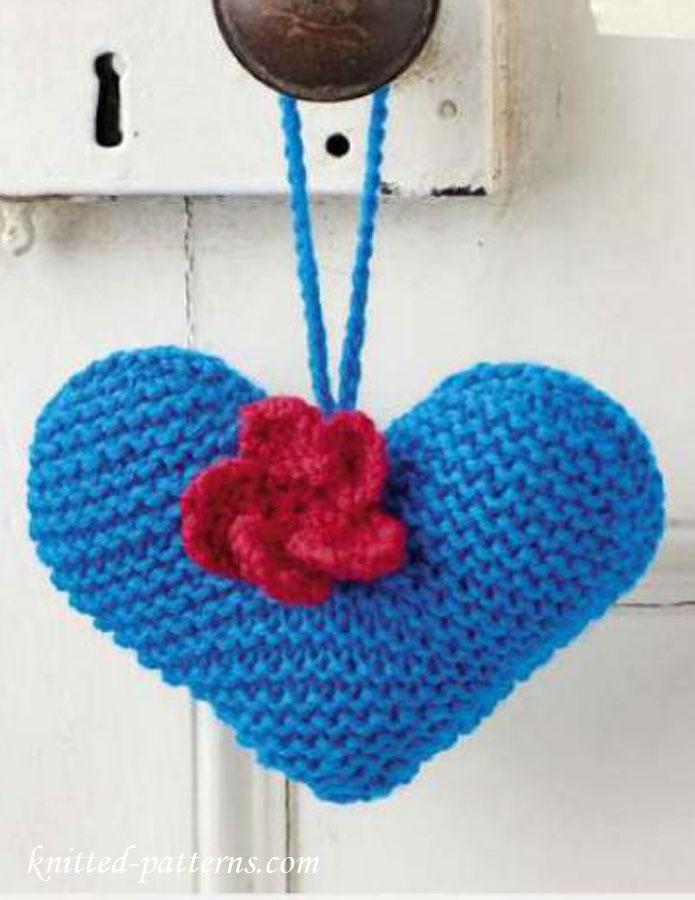 Heart Knitting Pattern Free