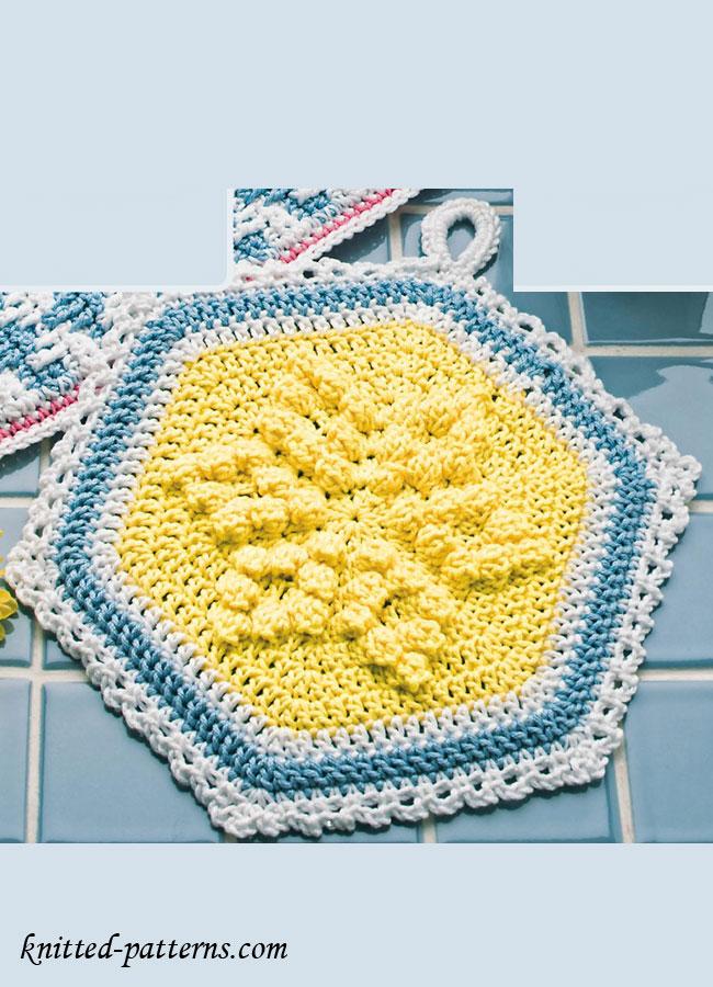 Pot Holder Crochet Pattern Free