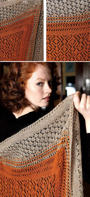 Knitting Casting Off Loosely : Knit lace shawl pattern free