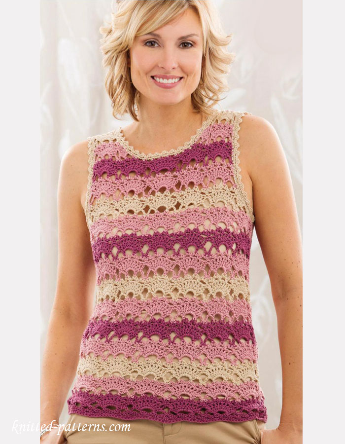 Sea Breeze Cover Up Crochet Pattern - ByKaterina. Find this Pin and more on Crochet Women's Tops by Debbie Does Crochet. The Sea Breeze Cover Up is such an easy and fun project. Hope you enjoy this pattern and give it a try.