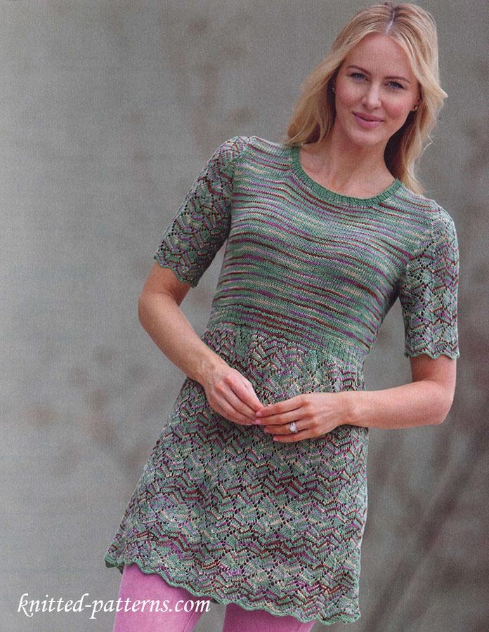 Knitting Summer Tunic : Summer tunic knitting pattern