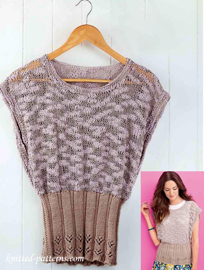 These free knitting patterns ensure that all winter you'll have the perfect top to wear, no matter the occasion. These knitting patterns for tops are stylish, easy to make, and inexpensive.