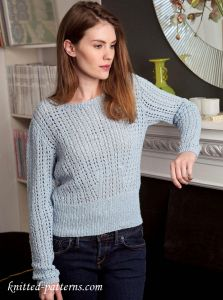 Knitting Pattern For Oxfam Jumper : Womens Knit Jumper