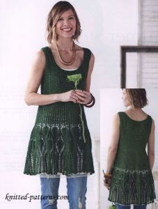 Summer dress crochet pattern free