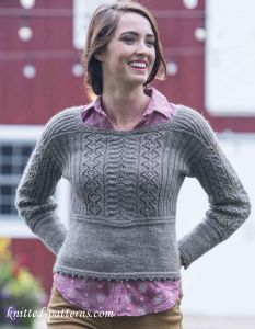 Top down sweater knit pattern free